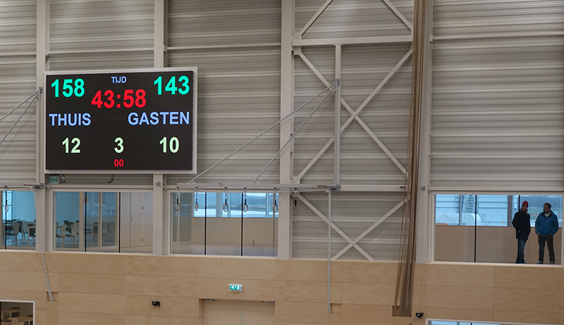 LED Display - De Meent Topsporthal