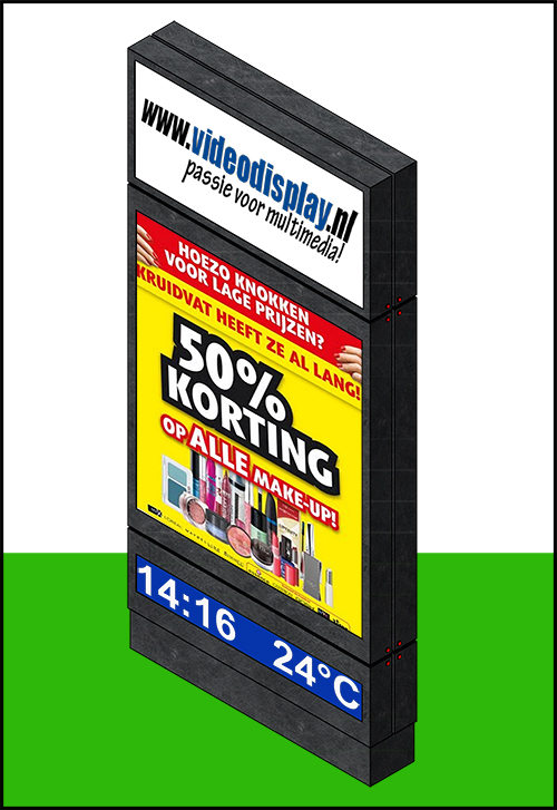 LED Reclame Zuil